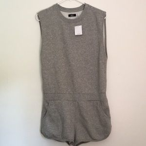 Urban outfitters BDG gray romper shorts sweater